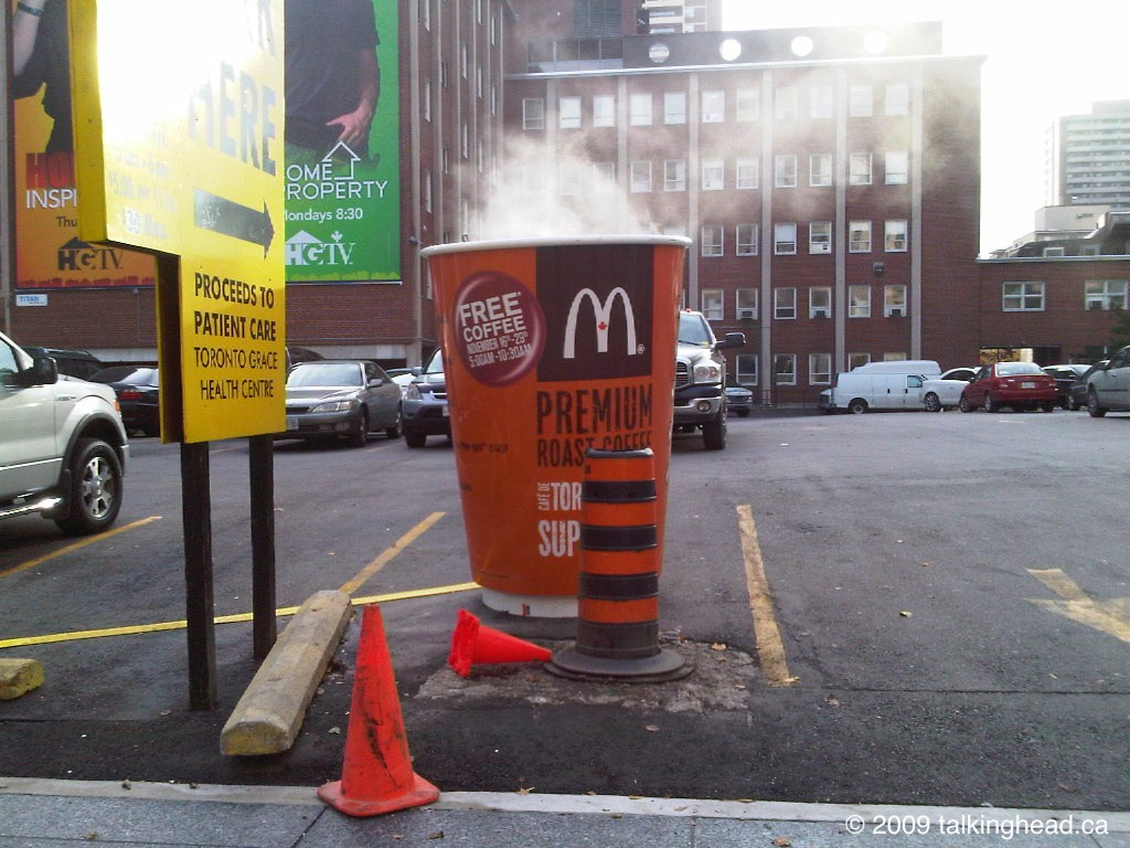 coffee pothole