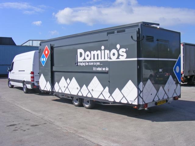 dominos trailer